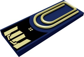 Xlyne Clip/Me 8GB blau, USB-A 2.0 (3168971)