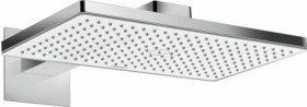 Hansgrohe Rainmaker Select shower head 460 1jet EcoSmart with shower arm chrome/white (24013400)