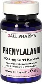 Phenylalanin 500mg GPH Kapseln, 60 Stück