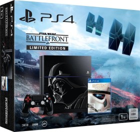 Sony PlayStation 4 - 1TB Star Wars: Battlefront Limited Edition Bundle schwarz