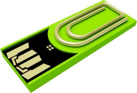 Xlyne Clip/Me 8GB grün, USB-A 2.0 (3168968)