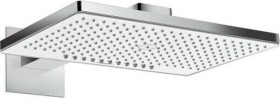 Hansgrohe Rainmaker Select shower head 460 2jet EcoSmart with shower arm chrome/white (24015400)