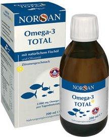 Norsan Omega-3 Total Zitrone Öl, 200ml
