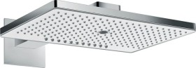 Hansgrohe Rainmaker Select shower head 460 3jet EcoSmart with shower arm chrome/white (24017400)