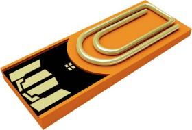 Xlyne Clip/Me 8GB orange, USB-A 2.0 (3168970)