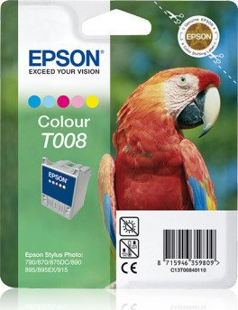 Epson T008 ink coloured (C13T00840110)