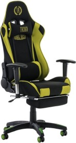 CLP Turbo with fabric gaming chair, black/green (1916700125)