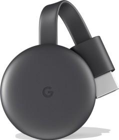 Google Chromecast 2018 schwarz (GA00439-DE)