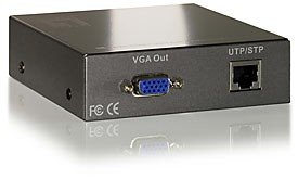 LevelOne AVE-9200, 1-port Cat.5 A/V-Empfänger