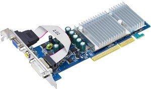 ASUS N6200/TD/128M, GeForce 6200, 128MB DDR, VGA, DVI, TV-out, AGP
