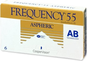 Cooper Vision Frequency 55 aspheric, +1.25 Dioptrien, 6er-Pack