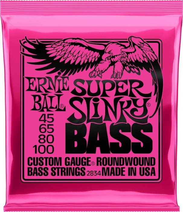 Ernie Ball nickel Wound Bass Super Slinky (P02834)