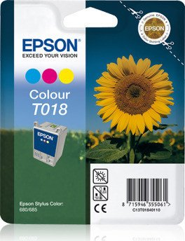 Epson T018 ink coloured (C13T01840110)