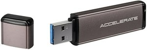 Sharkoon Flexi-Drive Accelerate Duo 64GB, USB 3.0