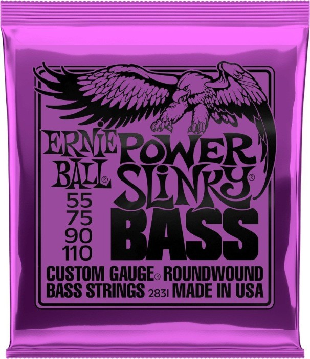 Ernie Ball nickel Wound Bass Power Slinky (P02831)