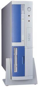 MSI MS-6232V Barebone NetPC Hermes 651-P, socket 478 (various colours)