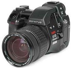 Olympus E-10 schwarz Gehäuse