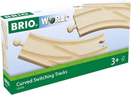 BRIO Curved switching tracks (33346) -- via Amazon Partnerprogramm