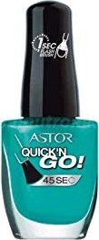 Astor Quick'n Go! 45 Seconds Nagellack 325 Caribbean Sea, 8ml