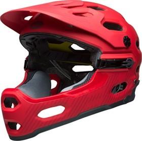 Bell Super 3R MIPS Fullface-Helm matte hibiscus