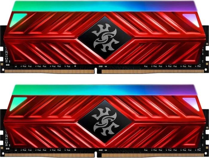 ADATA XPG Spectrix D41 rot RGB DIMM Kit 16GB, DDR4-3600, CL17-18-18 (AX4U360038G17-DR41)