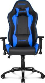 AKRacing Nitro Gamingstuhl, schwarz/blau (AK-NITRO-BL)