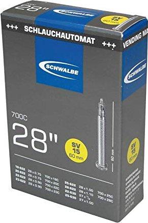 """18//28-622//630 Sclaverandventil Schwalbe SV 15 Schlauch 28/"""" Rennrad 700x18C//28C"""