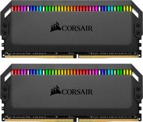 Corsair Dominator Platinum RGB DIMM Kit 32GB, DDR4-3000, CL15-17-17-35 (CMT32GX4M2C3000C15)