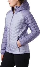Columbia Powder Lite Hooded Jacke twilight/dusty iris (Damen) (1699071-580)