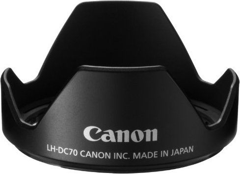 Canon LH-DC70 lens hood (5973B001) -- via Amazon Partnerprogramm