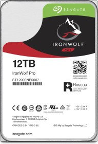Seagate IronWolf Pro NAS HDD +Rescue 60TB Bundle, SATA 6Gb/s, 5x 12TB-Pack (ST12000NE0007X5)