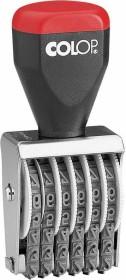 COLOP 04006 Ziffernstempel, 6 Ziffern, 23x4mm