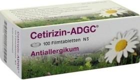 Cetirizin-ADGC Filmtabletten, 100 Stück