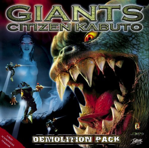 Giants - Citizen Kabuto Demolition Pack (German) (PC) -- via Amazon Partnerprogramm
