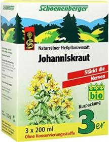 Salus Schoenenberger Johanniskraut Heilpflanzensaft, 600ml (3x 200ml)