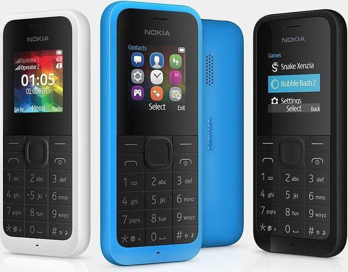 Nokia 105 Dual-SIM schwarz