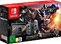 Nintendo Switch - Monster Hunter: Rise Bundle schwarz/grau