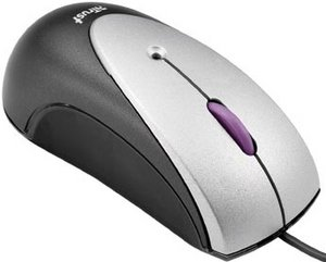 Trust MI-2600Mp Optical Micro Mouse, USB (12946)