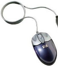 HP travel Mouse, USB (F2100A)