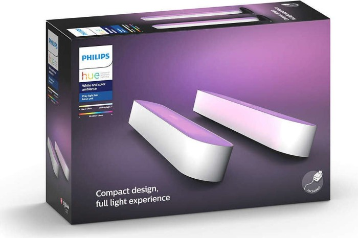 Philips Hue white and colour Ambiance Play double starter set white (78202/31/P7)