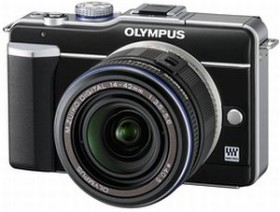 Olympus PEN E-PL1 schwarz mit Objektiv M.Zuiko digital ED 14-42mm (N3839292)