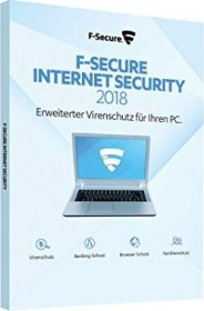 F-Secure Internet Security 2018, 1 User, 1 year (multilingual) (PC)