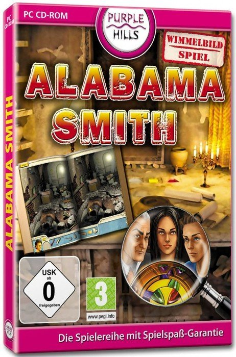 Alabama Smith - Flucht off Pompeii (German) (PC)