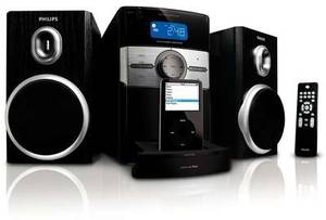 Philips DC156 speaker system for iPod and iPhone (DC156/05)
