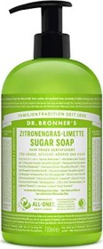 Dr. Bronner Shikakai lemongrass-lime liquid soap, 355ml