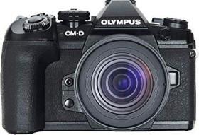 Olympus OM-D E-M1 Mark II schwarz mit Objektiv M.Zuiko digital ED 12-45mm (V207063BE000)