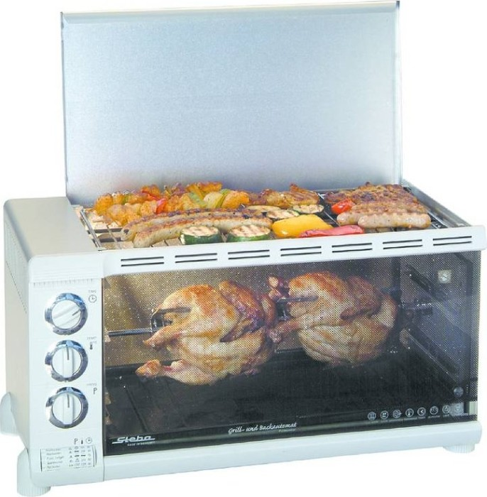 Steba G80/31 C.4 Mini-Backofen mit Grill -- via Amazon Partnerprogramm