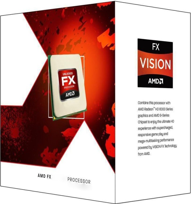 AMD FX-4170, 4x 4.20GHz, boxed (FD4170FRGUBOX)