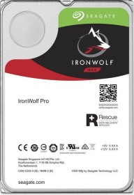 Seagate IronWolf Pro NAS HDD +Rescue 20TB Bundle, SATA 6Gb/s, 2x 10TB-Pack (ST10000NE0004X2)
