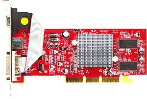 PowerColor Radeon 9200SE/9250SE, 128MB DDR, VGA, DVI, TV-out, low profile (R92LE-C3S/R92L-LC3)